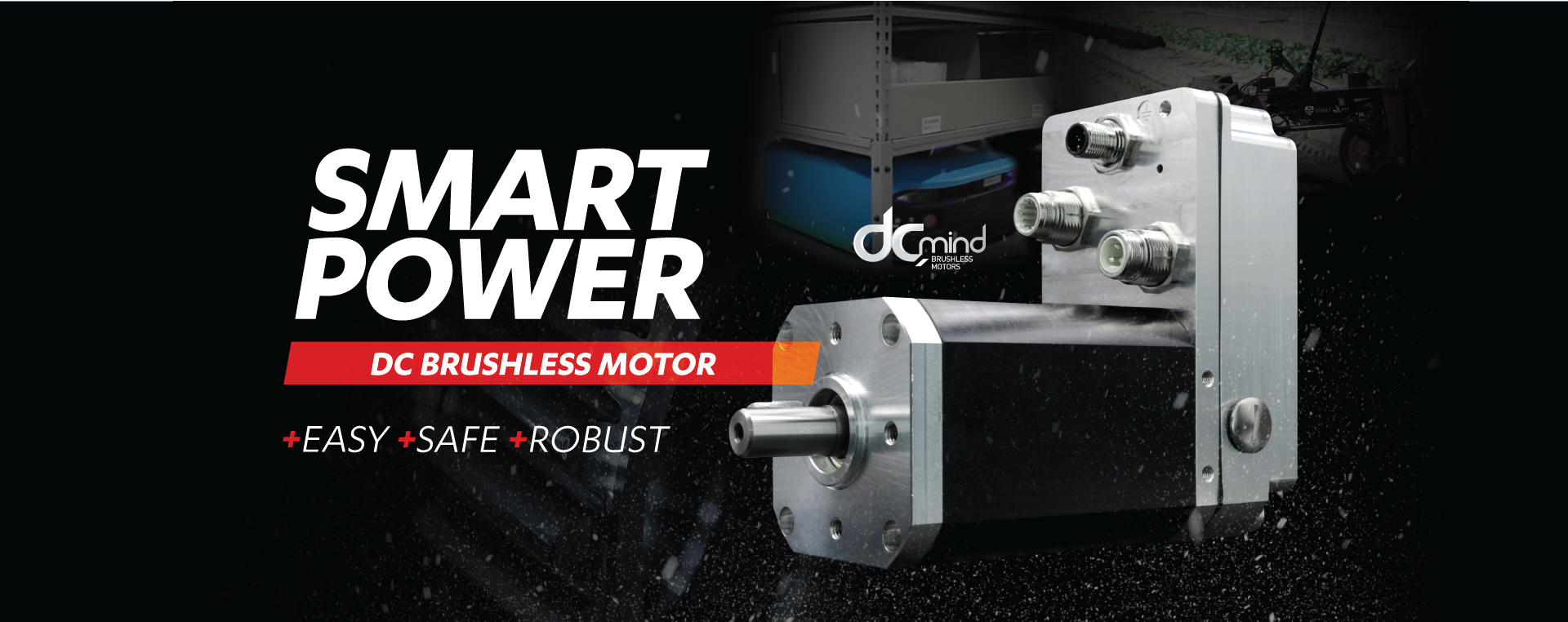 DC Brushless smart power